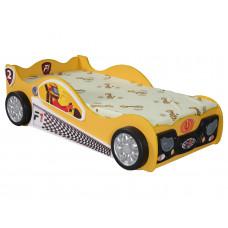 Inlea4Fun gyerekágy Monza Mini - Sárga Előnézet