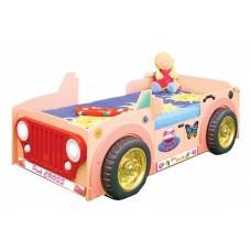 Inlea4Fun gyerekágy JEEP - Pink  Előnézet