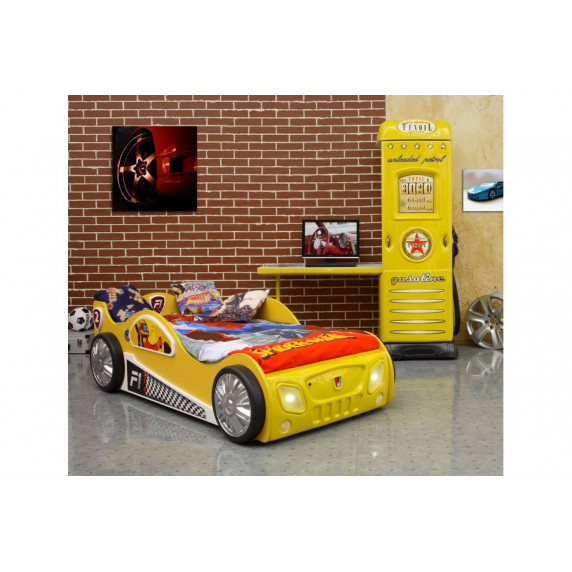 Gyerekágy Inlea4Fun Monza - Sárga