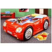 Inlea4Fun gyerekágy Sleepcar - Piros