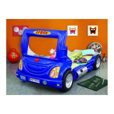 Inlea4Fun gyerekágy Kamion  - Kék Előnézet