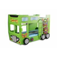 Gyerekágy Inlea4Fun Happy Bus  - Zöld