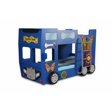 Gyerekágy Happy Bus Inlea4Fun  - Kék Előnézet