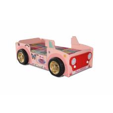 Gyerekágy Inlea4Fun JEEP - Pink  Előnézet