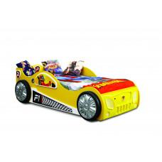 Gyerekágy Inlea4Fun Monza - Sárga Előnézet