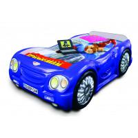 Gyerekágy Sleepcar Inlea4Fun - Kék