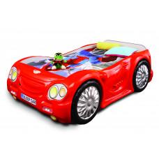 Gyerekágy Sleepcar Inlea4Fun - Piros Előnézet
