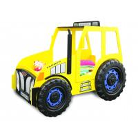Gyerekágy Traktor Inlea4Fun  - Sárga