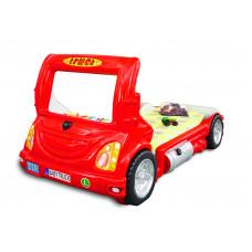 Gyerekágy Inlea4Fun Kamion  - Piros Előnézet
