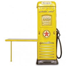 Inlea4fun szekrény íróasztallal Benzinkút - Sárga Előnézet