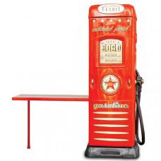 Inlea4fun szekrény íróasztallal Benzinkút  - Piros Előnézet