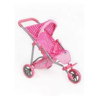 PlayTo Olivie játék sportbabakocsi - világos rózsaszín