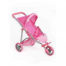 PlayTo Olivie játék sportbabakocsi - világos rózsaszín Előnézet