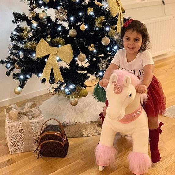 Vágtázó póni PonyCycle 2020 Pink Unicorn - Nagy