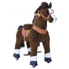 Vágtázó póni PonyCycle 2021 sötét barna foltos - Kicsi Előnézet
