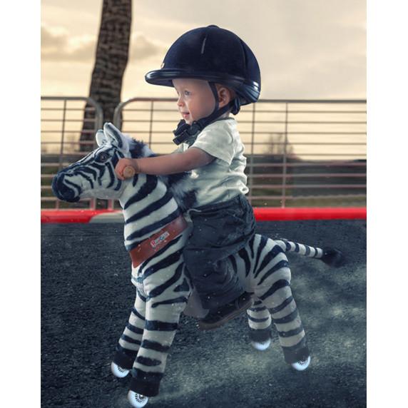 Vágtázó póni PonyCycle 2021 Zebra - Kicsi