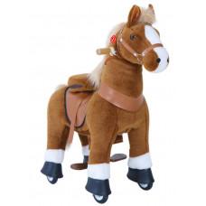 Vágtázó póni PonyCycle 2021 Világos barna foltos - Nagy Előnézet