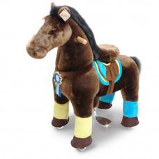 Vágtázó póni PonyCycle Chocolate Brown - Kicsi Előnézet