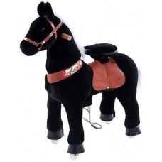 PonyCycle vágtázó póni fekete - Kicsi Előnézet