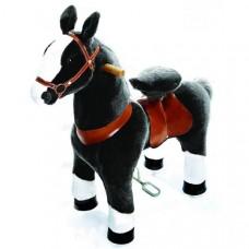 PonyCycle vágtázó póni fekete foltos - Kicsi Előnézet