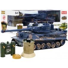 RC Tank Tiger interaktív rejtekhellyel Előnézet