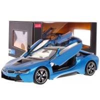 RC Távirányítós autó BMW i8 RASTAR 1:14 - kék