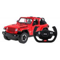 RC Távirányítós autó JEEP Wrangler JL 1:14 - piros
