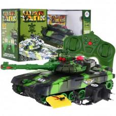 Távirányítós tank RC Tank WAR Camouflage - zöld Előnézet