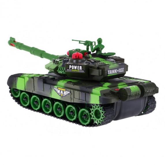 Távirányítós tank RC Tank WAR Camouflage - zöld