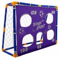 Inlea4Fun KINGS Sport 26002 focikapu szett célzó felülettel