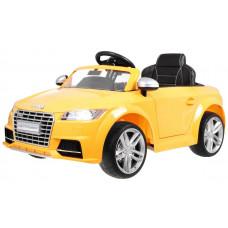 AUDI TTS Roadster elektromos kisautó lakkozott - Sárga Előnézet
