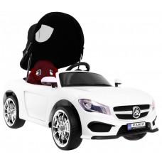 Roadster Cabrio elektromos kisautó - Fehér Előnézet