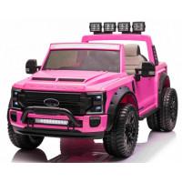 Elektromos kisautó Ford Super Duty - rózsaszín