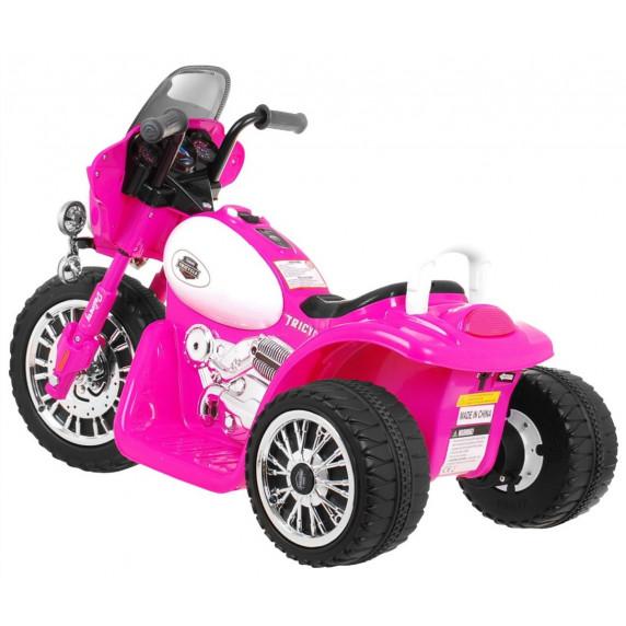 Chopper elektromos kismotor - Rózsaszín