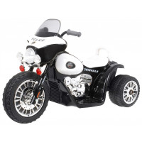 Elektromos kismotor Chopper - Fekete