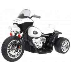 Elektromos kismotor Chopper - Fekete Előnézet