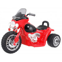 Elektromos kismotor Chopper - Piros