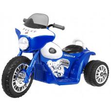 Elektromos kismotor Chopper - Kék Előnézet