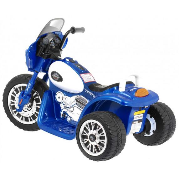 Elektromos kismotor Chopper - Kék