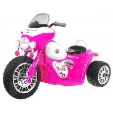 Elektromos kismotor Chopper - Rózsaszín Előnézet