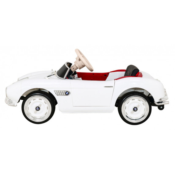 Elektromos kisautó BMW 507 Retro - fehér