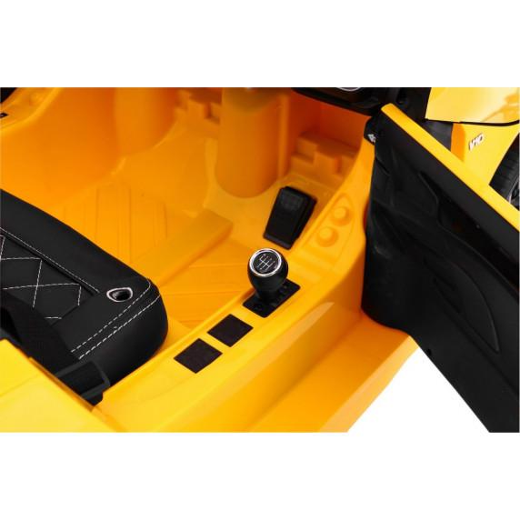 AUDI R8 Spyder RS EVA Elektromos kisautó - Sárga