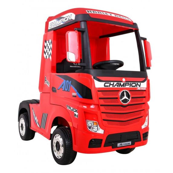 Elektromos kamion Mercedes Benz Actros - Piros