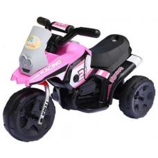 HV318 Racing elektromos háromkerekű - Rózsaszín Előnézet