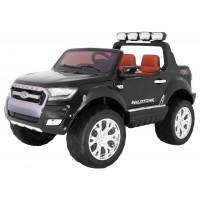 Elektromos kisautó lakkozott FORD Ranger 4x4 FaceLifting - Fekete