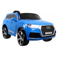 AUDI Q7 2.4G LIFT elektromos kisautó lakkozott - Kék Előnézet