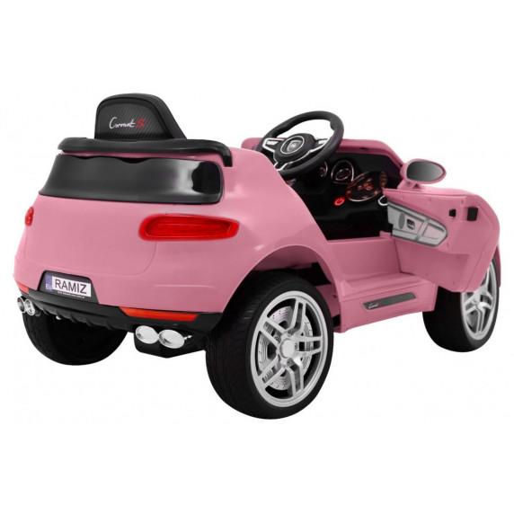 Coronet Turbo S elektromos kisautó - rózsaszín