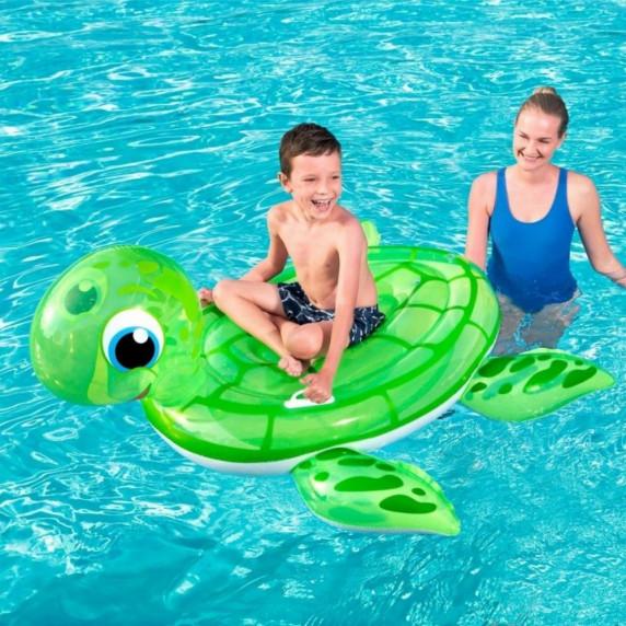 BESTWAY 41041 Felfújható teknős matrac 140x140 cm