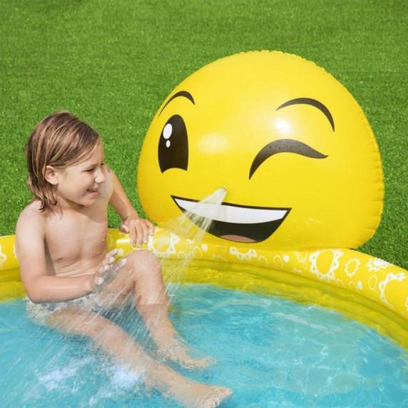 BESTWAY 53081 Emoji gyerekmedence 165x144x69 cm