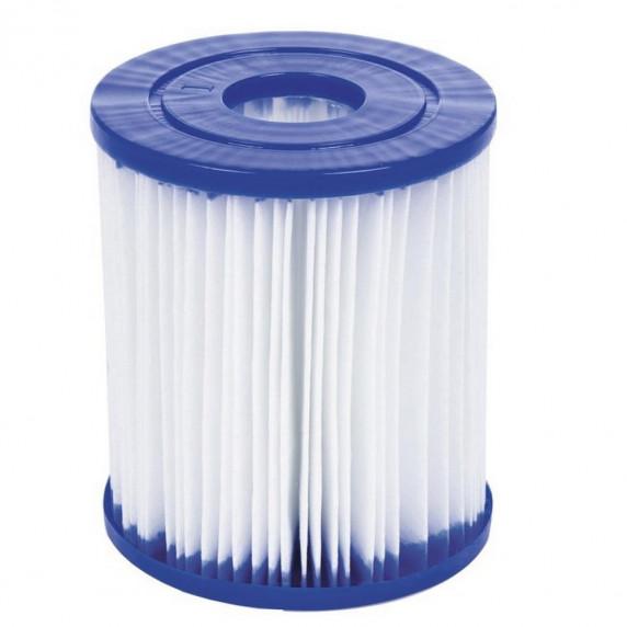 Medence papírszűrős vízforgatóval 400x211x81 cm BESTWAY 56424 Steel Pro